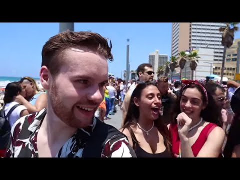 Didn't Know TEL AVIV PRIDE Was This Crazy + Street Food Tour