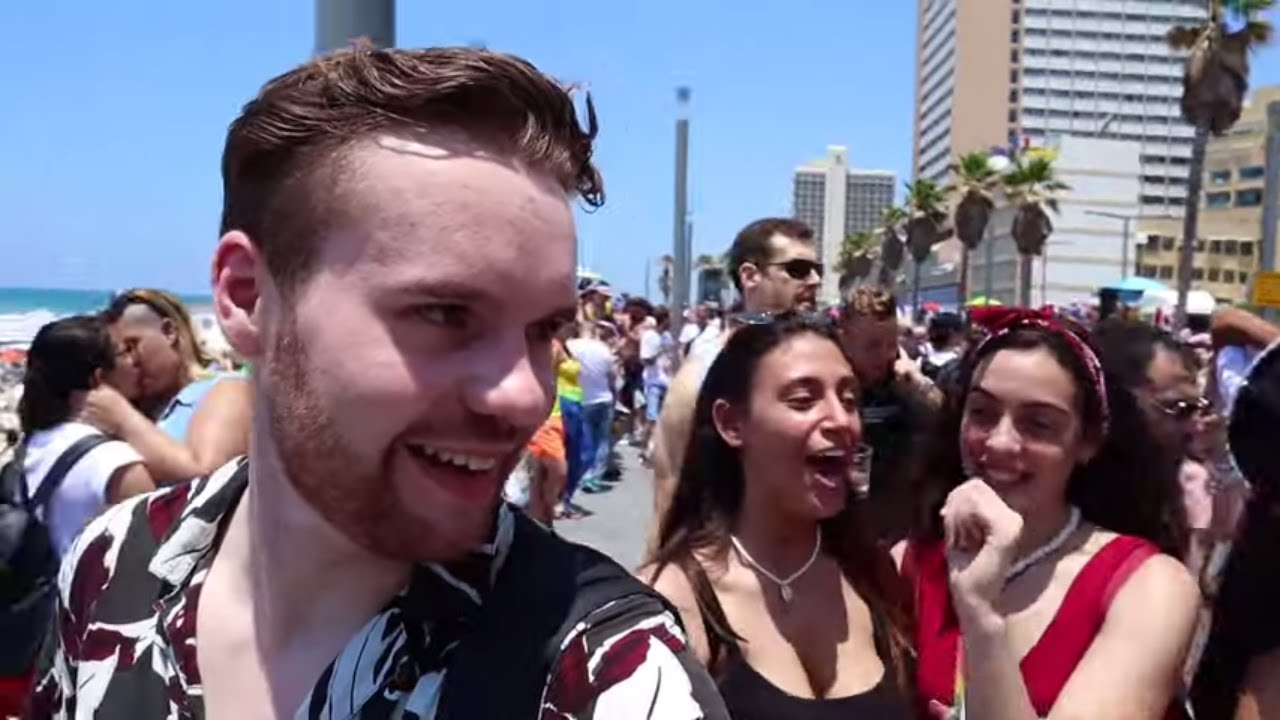 Download Didn't Know TEL AVIV PRIDE Was This Crazy + Street Food Tour