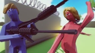 TRUMP'S WALL VS CLINTON'S EMAILS | TABS (Totally Accurate Battle Simulator)