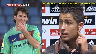 What Happened When Cristiano Ronaldo Challenged FC Barcelona Dream Team
