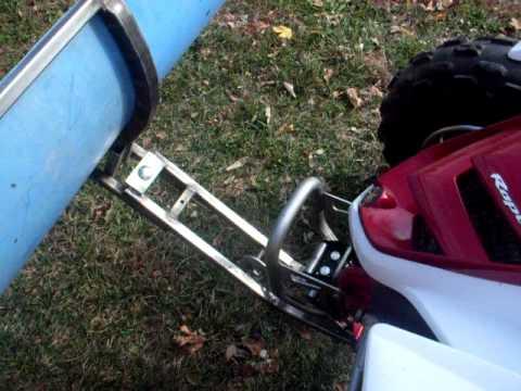Yamaha Warrior Snow Plow