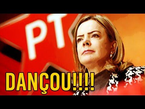 Gleisi toma INVERTIDA após acusar Bolsonaro e Moro