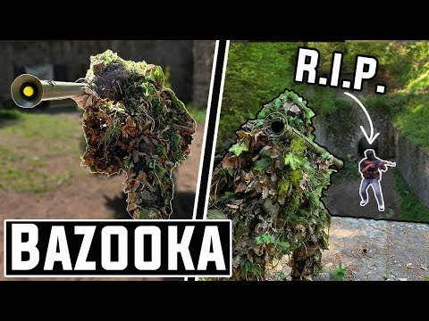 The Most Overpowered Airsoft Gun in Existence 🚀(Bazooka RPG)