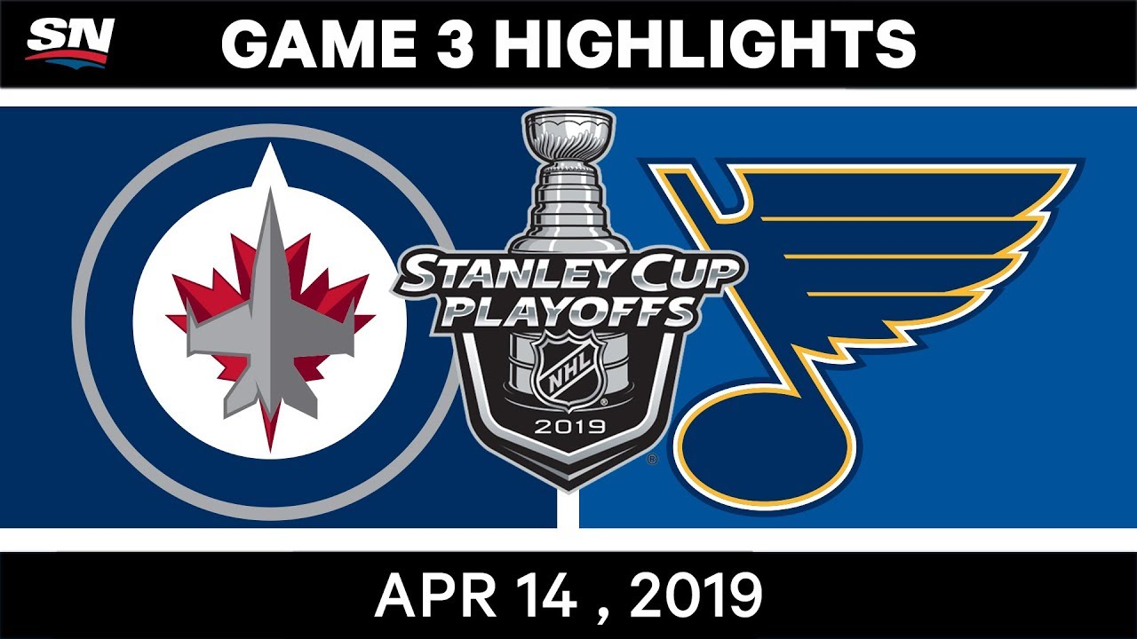 NHL Highlights | Jets vs Blues, Game 3 – April 14, 2019
