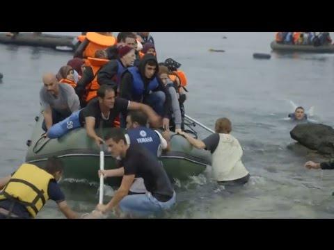 Samaritan's Purse Canada - The Rising Tide: Europe's Refugees Wash Ashore in Greece