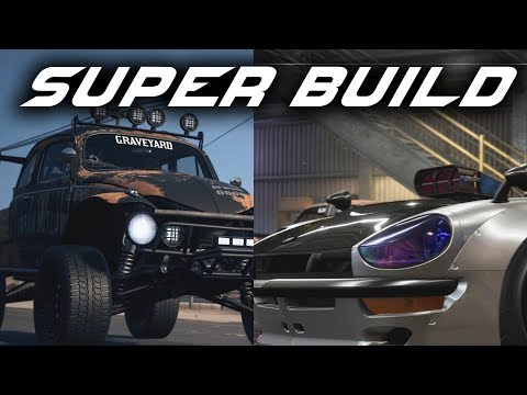 Need for Speed Payback - TWO SUPER BUILDS  - VW BEETLE & 240Z DATSUN