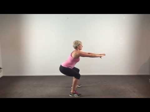 Happy Healthy Mums with Hayleigh Louise -Pulse Squats