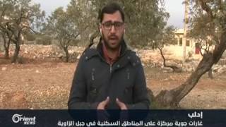 قوات النظام تستهدف أحياء مدينة  إدلب المحررة بالصواريخ الباليستية