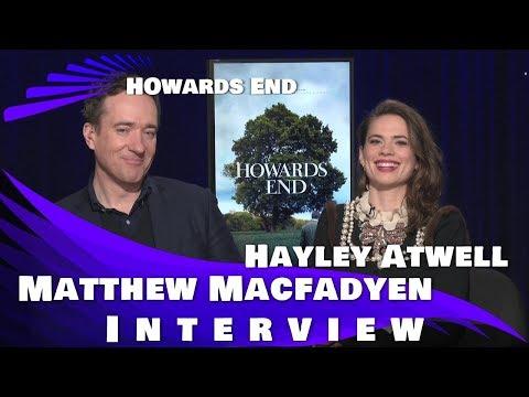 HOWARDS END - HAYLEY ATWELL AND MATTHEW MACFADYEN INTERVIEW