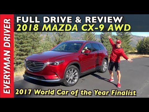 Watch This 2018 Mazda CX 9 AWD Review on Everyman Driver