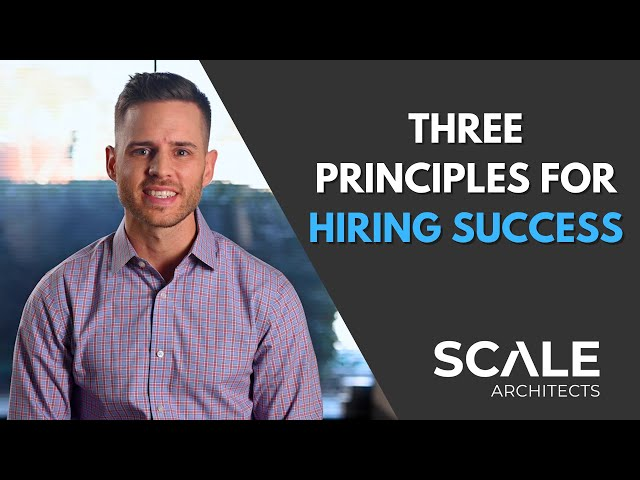 3 nimble hiring principles that are guaranteed to save you grief