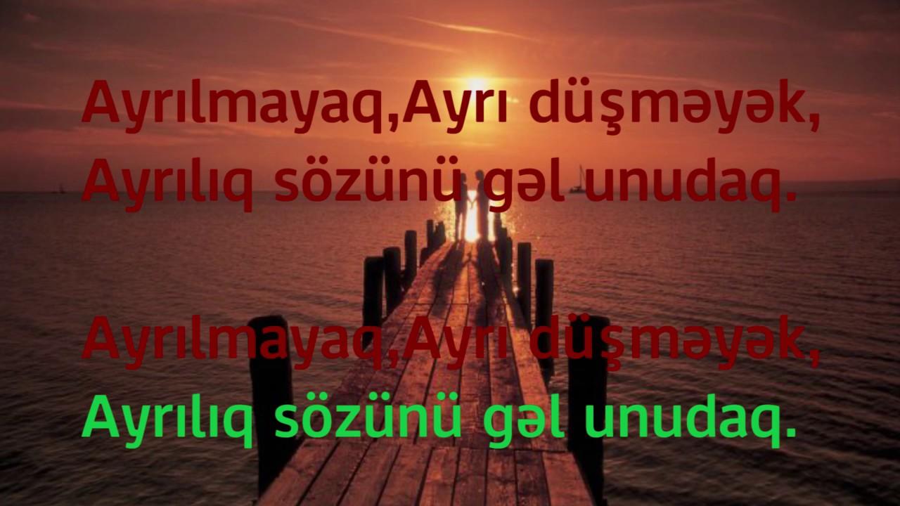 KARAOKE Azeri - Roya Bahar Minus