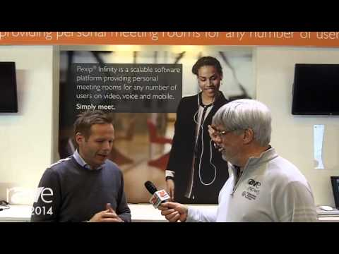 ISE 2014: Joel Rollins Interviews Executive Vice President of Pexip
