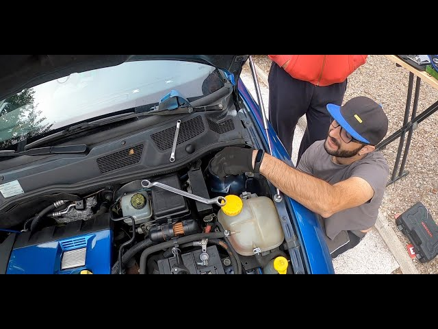 Cambio suspension delantera + Borrar fallos ITV   Bertone Project