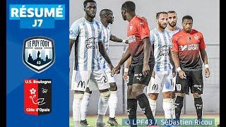 J7 : Le Puy Foot 43 - US Boulogne CO (0-2), le résumé | National FFF 2019-2020