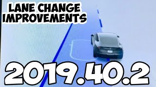 Tesla 2019.40.2 What's New? | Improved Lane Changing & Auto Wipers
