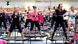 Jumping Fitness Altitude Marseille : sport tendance sur trampoline et en musique