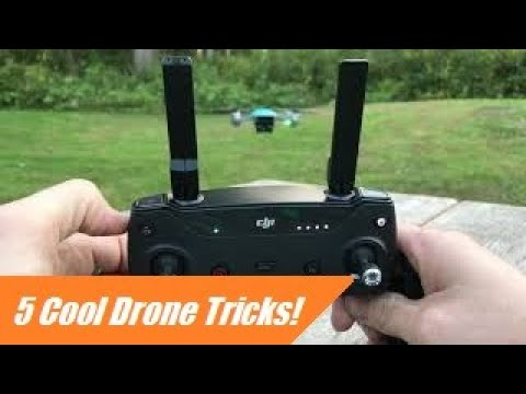 5 Cool Drone Tricks with DJI Spark (Tutorial)