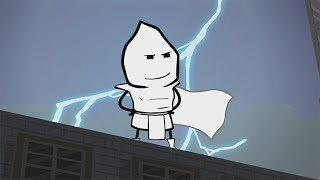 The White Knight - Cyanide & Happiness Shorts(FREE C&H Emoji and Avatar Creator on iOs and Android: http://vid.io/xcef Subscribe to Explosm! - http://bit.ly/13xgq7a New comic every day!, 2015-10-01T05:00:01.000Z)