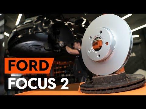 Как заменить передние тормозные диски наFORD FOCUS 2 (DA)[ВИДЕОУРОК AUTODOC]
