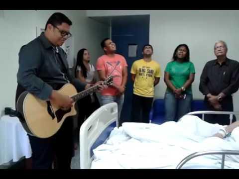 Anderson Freire visita Hospital