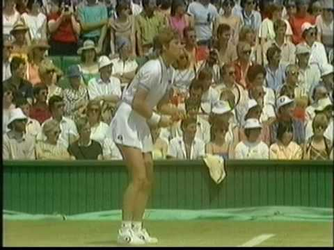 1984 Wimbledon SF Chris Evert Hana Mandlikova (2/4)