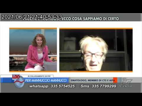 Legami tra vaccini e trombosi - Intervista al prof. Mannucci - 21/6/2021