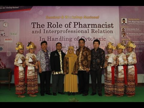 Seminar & Workshop Nasional Apoteker 25 ISTN Jakarta (Part 1)