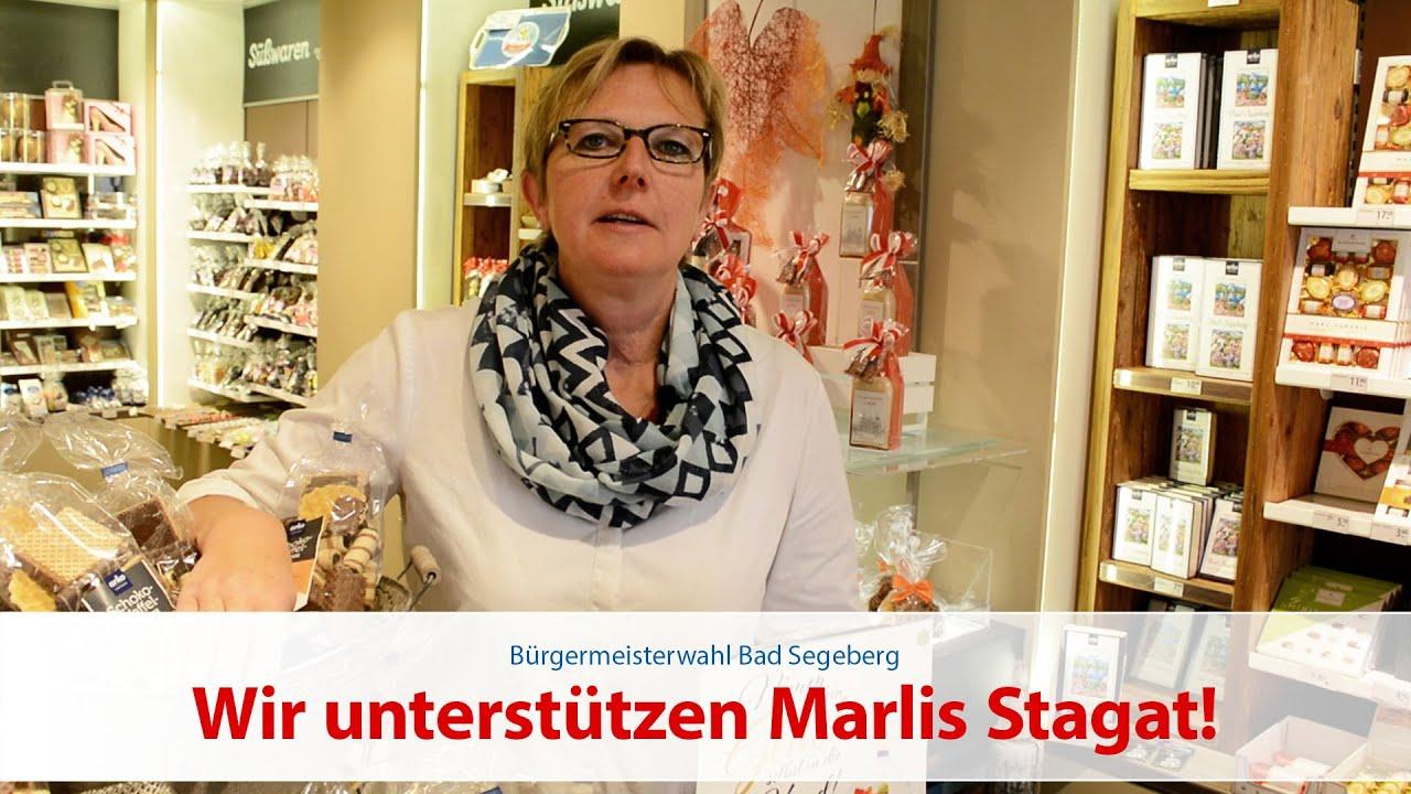 Britta Glocker unterstützt Marlis Stagat
