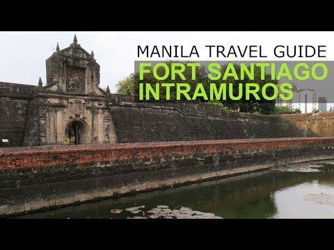 Manila Travel Guide: Fort Santiago Intramuros Manila Philippines