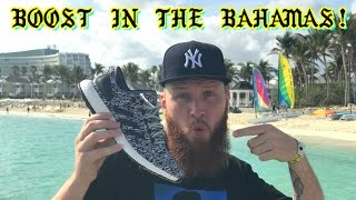 WEARING adidas PURE BOOST in the BAHAMAS + REVIEW & ULTRA BOOST COMPARISON!