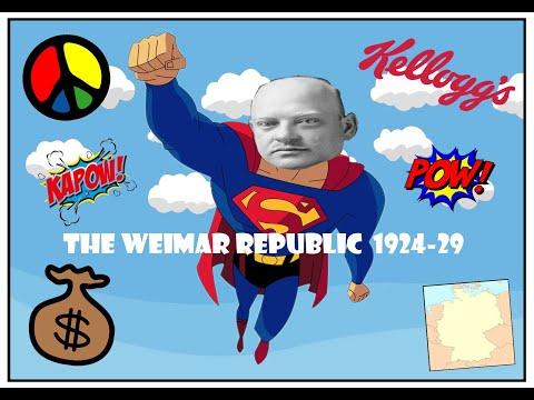 6. The Weimar Republic - 1924-29