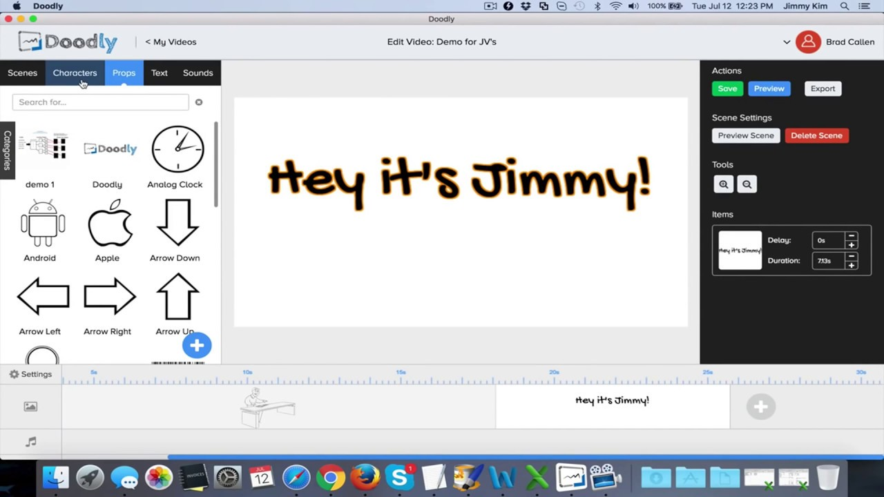 Doodly review doodly demo youtube for Doodly free