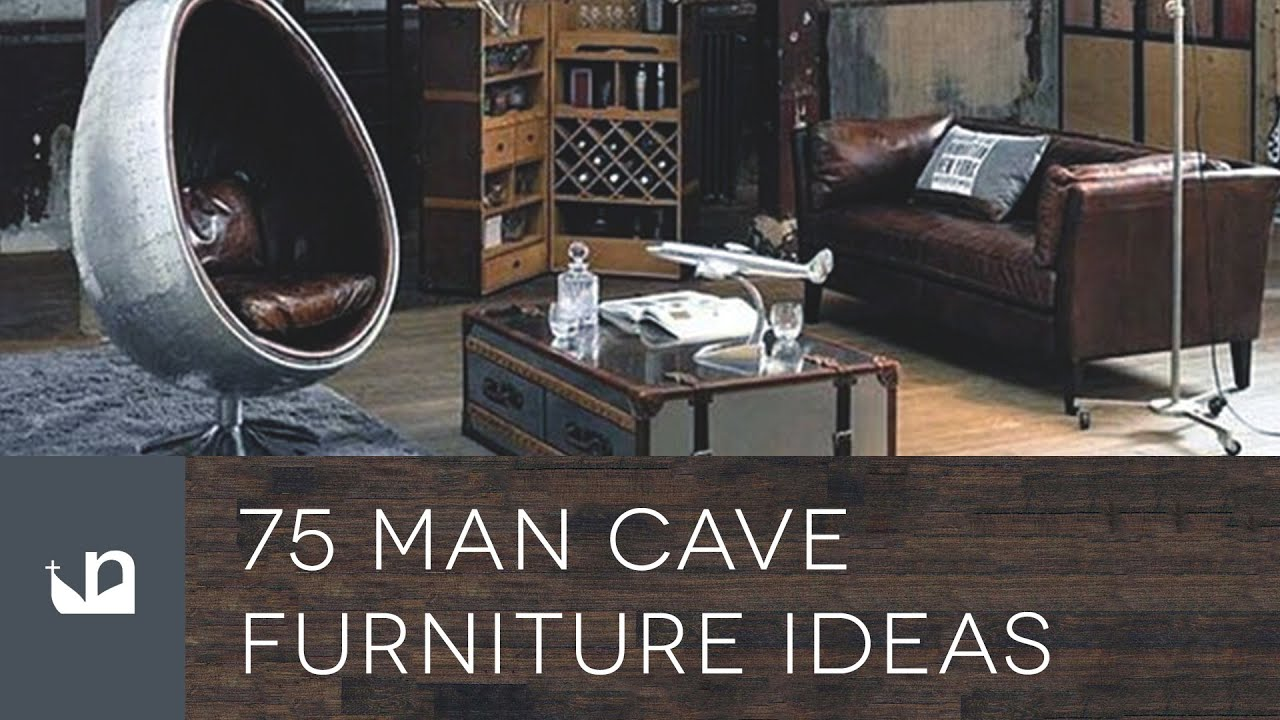 75 Man Cave Furniture Ideas For Men Youtube