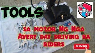 Tools SA motor Ng nga every day driving.