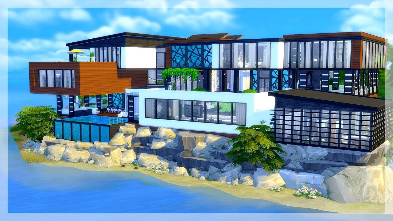 HD wallpapers plan maison moderne sims 3 wallpaper-wall-bed ...