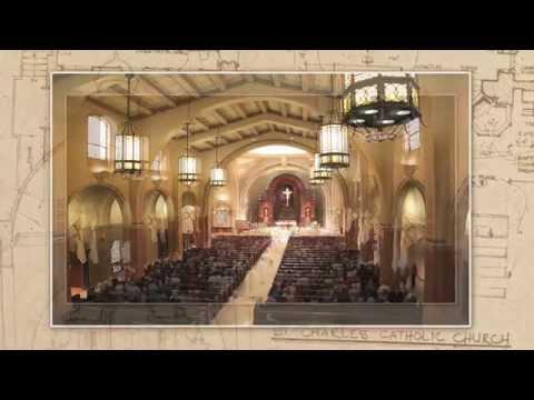 HD Church Time Lapse Remodel - St. Charles Borromeo Catholic Church 2014