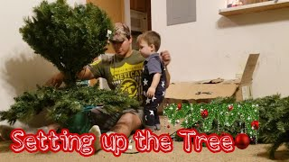 Teen Parents Vlog // We finally set up our Christmas Tree 🎄