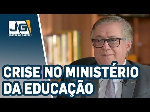 """Ministro da Educação é chamado de ''gerencialmente incompetente"""", por ex-presidente do INEP"""