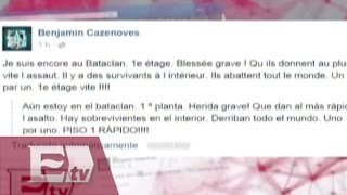 Testigo del atentado en París narra lo que pasa dentro del Bataclan