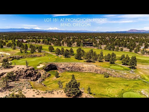 Canyon View Loop Lot 181 At Pronghorn Resort In Bend, Oregon