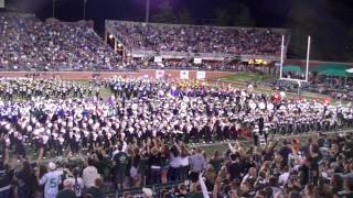 """Ohio University Marching 110 - """"What Makes You Beautiful"""" - One Direction - 9/8/2012"""