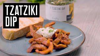 Tzatziki Dip Wajos - Zubereitung