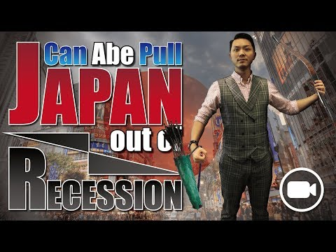 ABE LAST ARROW: Can JAPANESE ECONOMY get out of RECESSION?