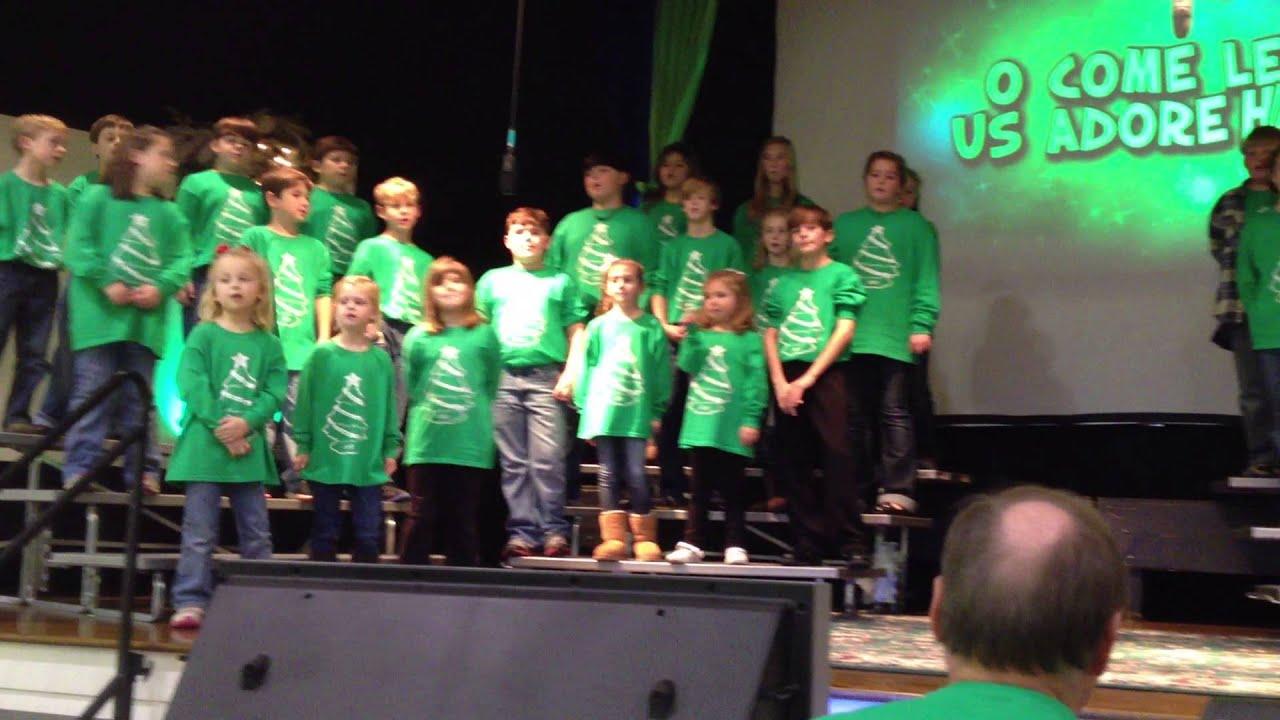 2012 First Baptist Church Children's Christmas Musical - YouTube