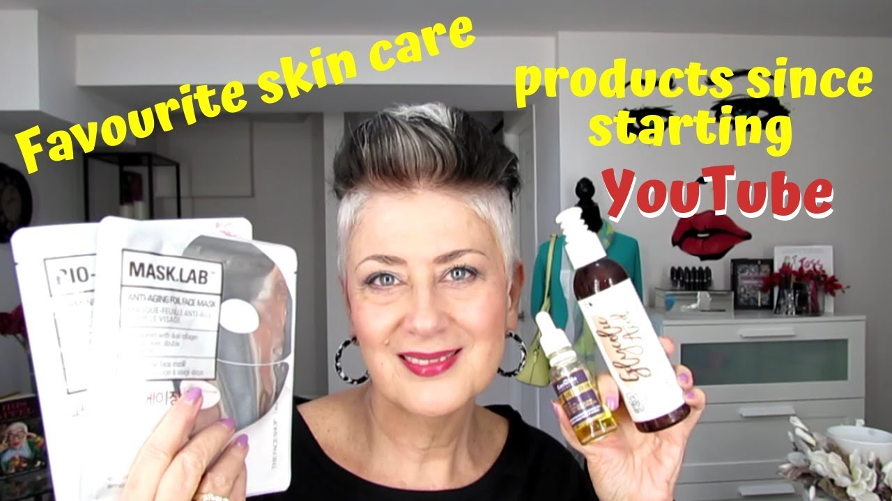 47a93ffe43b MY FAVOURITE SKIN CARE PRODUCTS SINCE STARTING YouTube 2018 OVER 50 ...