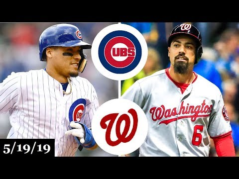 Chicago Cubs vs Washington Nationals - Full Game Highlights | May 19, 2019 | 2019 MLB Season