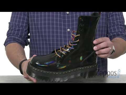 Dr. Martens Jadon Hi Rainbow Patent SKU