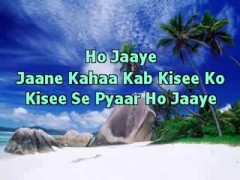 Dil Kya Kare JulieBest Indian Karaoke   YouTube