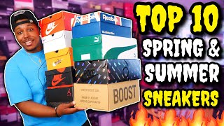 TOP 10 SNEAKERS FOR SUMMER UNDER $200!!!